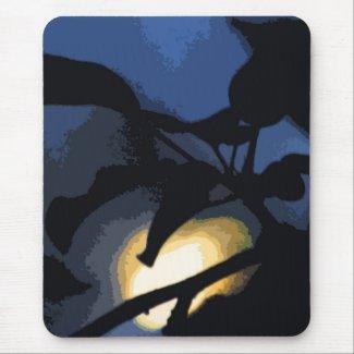 Mysterious Moon Mousepad