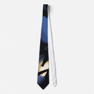 Mysterious Moon Neck Tie