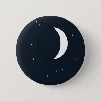 Mysterious Moon Pinback Button