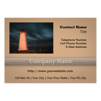 Mysterious Night at Peggy's Cove, Nova Scotia, Can Business Card Templates