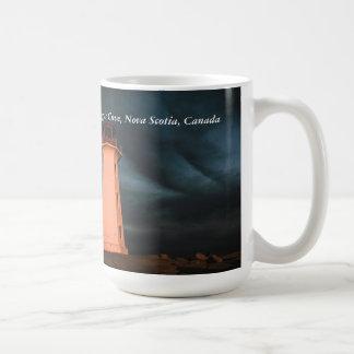 Mysterious Night at Peggy's Cove, Nova Scotia, Can Coffee Mug