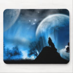 Mysterious Night Mouse Pad