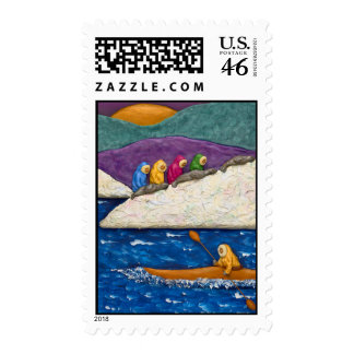 Mysterious North Postage Stamp