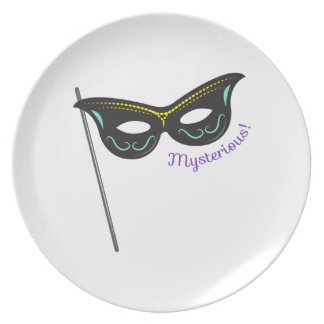 Mysterious! Plate