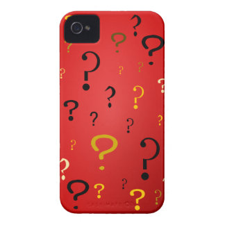 Mysterious Question Marks Case-Mate iPhone 4 Case