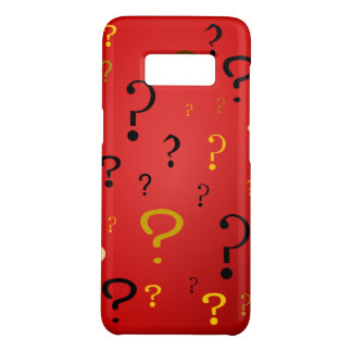 Mysterious Question Marks Case-Mate Samsung Galaxy S8 Case