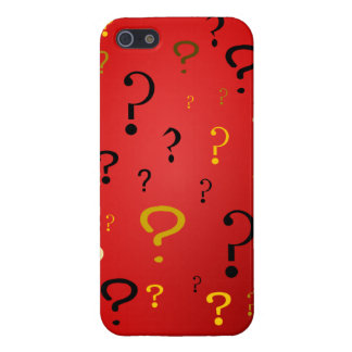 Mysterious Question Marks Cover For iPhone SE/5/5s