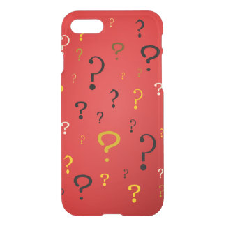 Mysterious Question Marks iPhone 8/7 Case