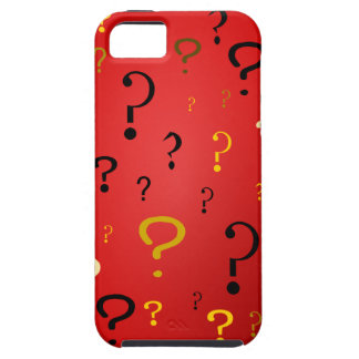 Mysterious Question Marks iPhone SE/5/5s Case