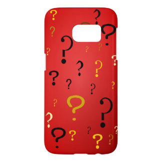 Mysterious Question Marks Samsung Galaxy S7 Case