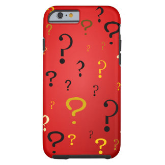 Mysterious Question Marks Tough iPhone 6 Case