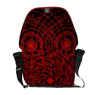 Mysterious Red Messenger Bag