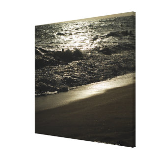 Mysterious sea gallery wrapped canvas