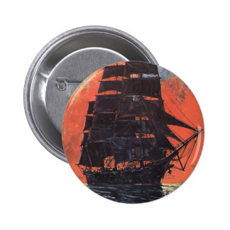 Mysterious Ship Pinback Button