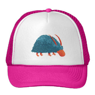 Mysterious shrub-monster trucker hat