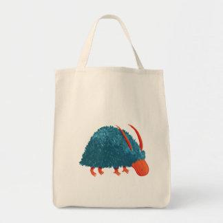 Mysterious shrub-monster tote bag