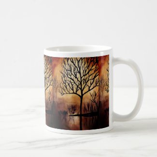 Mysterious Tree in Swamp Coffee Mug