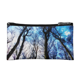 Mysterious Trees Makeup Bag