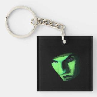 Mysterious ways keychain