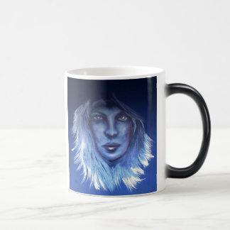 Mysterious Woman Coffee Mugs