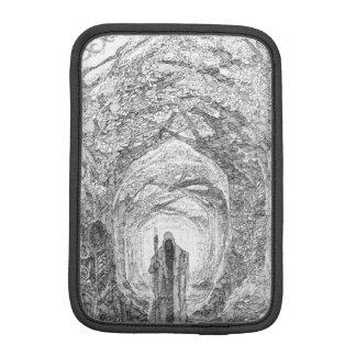 Mysterious Wood iPad Mini Sleeve
