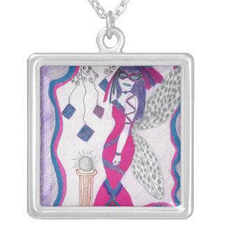 Mystery and Diamonds Personalized Necklace