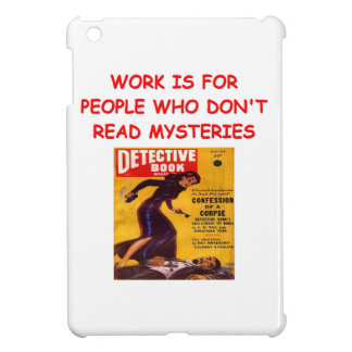 mystery book cover for the iPad mini