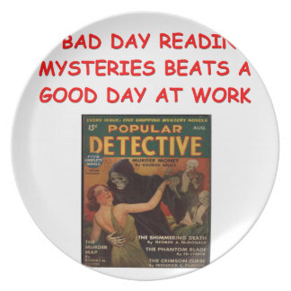 mystery book plate