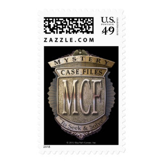 Mystery Case Files Postage Stamp