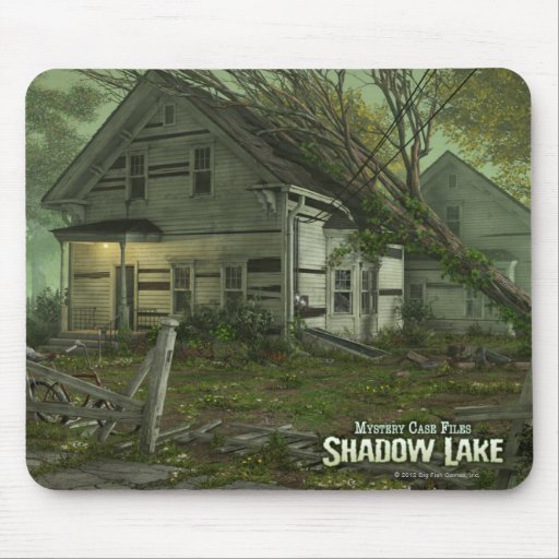 Mystery Case Files: Shadow Lake House Mouse Pad