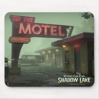 Mystery Case Files: Shadow Lake Motel Mouse Pad