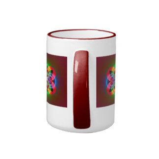 Mystery Flower Ringer Coffee Mug