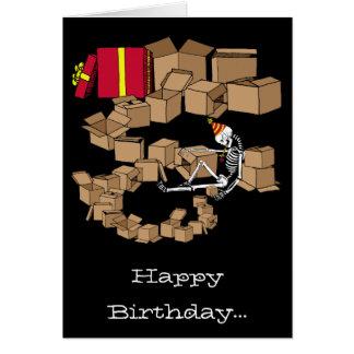 Mystery Gift Birthday card