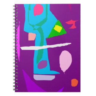 Mystery Harmony Bike Sward Spirit Job Samurai Spiral Note Book