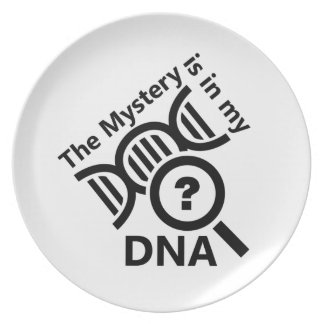 Mystery in DNA Party Plate