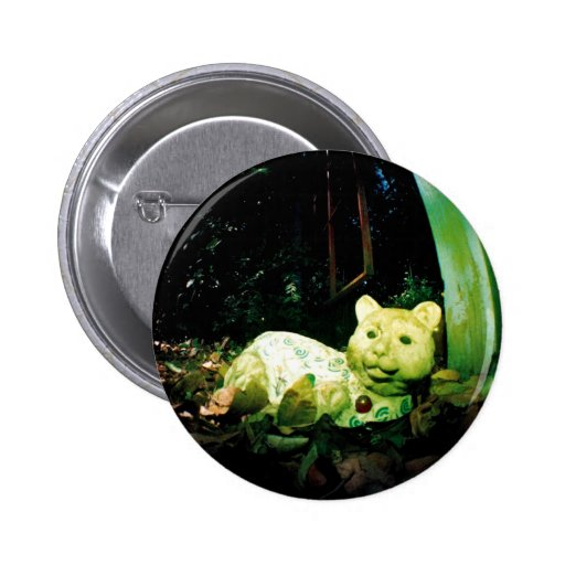 Mystery Kitty Pinback Buttons