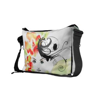 Mystery Lady Messenger Bag