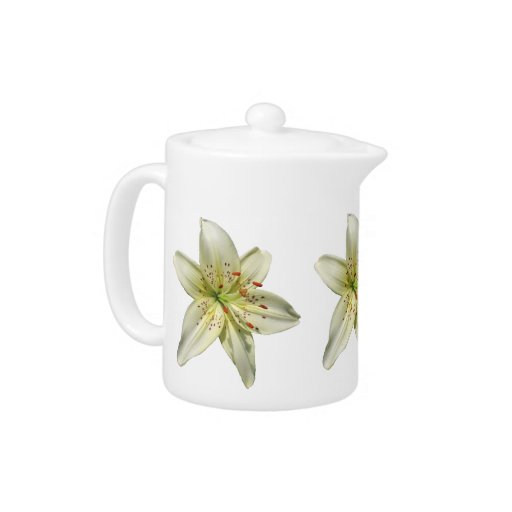 Mystery lily ~ Teapot