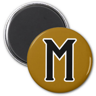 Mystery (logo) 2 inch round magnet