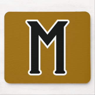 Mystery (logo) mouse pad