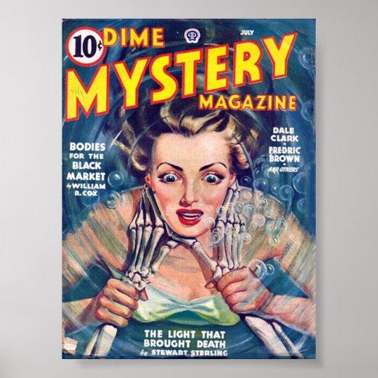 Mystery Magazine Poster