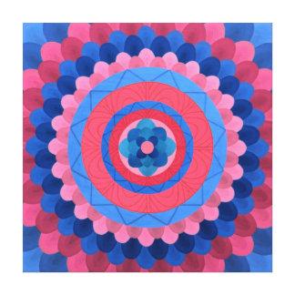 Mystery Mandala Canvas Print