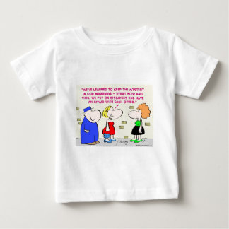 mystery marriage disguises affair baby T-Shirt