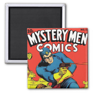 Mystery Men #13 2 Inch Square Magnet