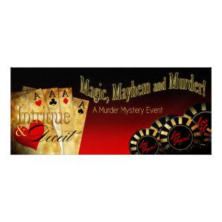 Mystery METALLIC ICE Las Vegas Deluxe FZ Invite