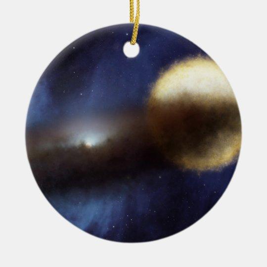 Mystery of Epsilon Aurigae Ceramic Ornament