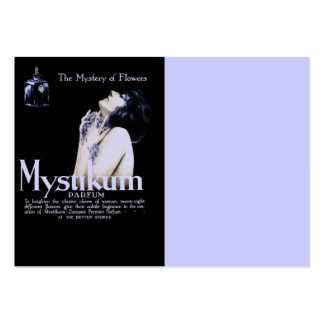 Mystery of Flowers - Mystikum Perfume Business Cards