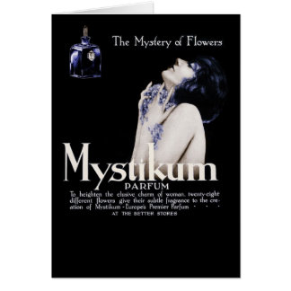 Mystery of Flowers - Mystikum Perfume Card