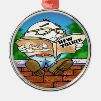 Mystery Of Humpty Dumpty Rick London Gifts Metal Ornament