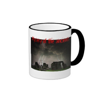 Mystery of the ancients ringer coffee mug